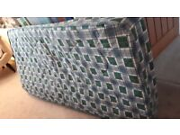 Single mattress with springs FOC!