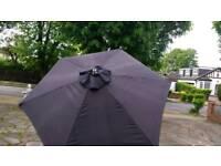 Garden parasol umbrellas