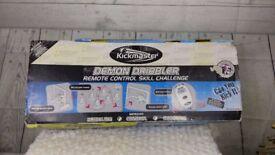 Kickmaster Demon Dribbler. Football skills game. remote control skill challenge