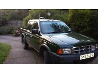 Ford Ranger double cab pickup 2002