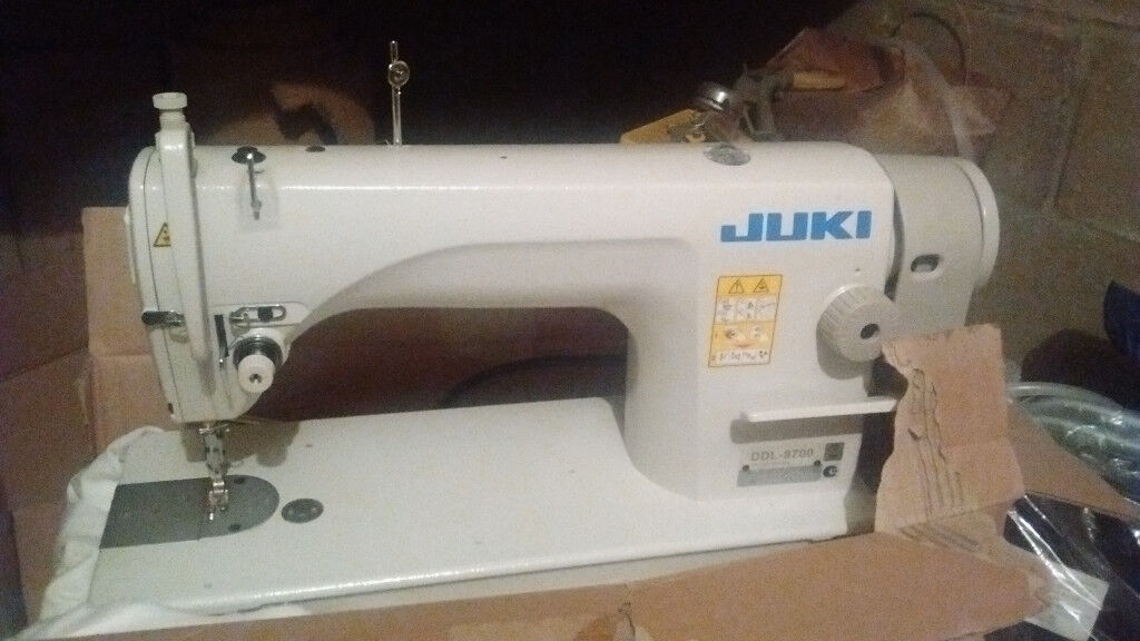 JUKI DDL 400 Industrial Sewing Machine Second Hand 40 Years Old Enchanting Second Sewing Machine