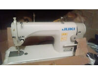 JUKI DDL 8700 Industrial Sewing Machine Second Hand 4 years Old (Table Included)