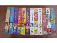 Walt Disney Classics Films VHS