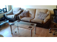 Sofa Bed and 2 Single Chairs (1 mile from Cribbs Causeway)