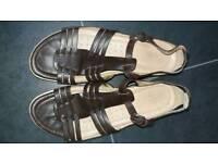 Reiker dark chocolate size 41 (size 7) sandals