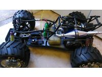 two 1/5 scale off road buggys swap for bike