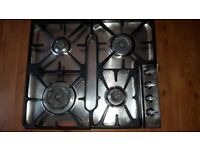 Gas oven hob and rings only