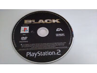 Playstation 2, 4 items Eye Toy Play 2 Game, Playstation 2 DVD, Black game ect...