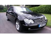Mercedes-Benz CLK 320 3.2 VERY LOW MILEAGE- ONLY 40.250 MILES - VERY CLEAN