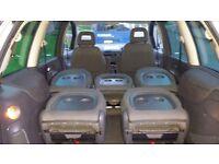 Volkswagon Sharan, 2.0ltr petrol, 2003, Silver, 7 Seater / VW Sharan Silver