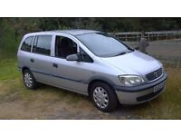 2003 vauxhall zafira 7 seater ( low mileage )
