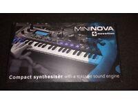 As New Novation Mininova Synth