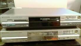 PANASONIC DMR-E85H HDD DVD RECORDER / PANASONIC DMR E65 DVD RAM RECORDER SPARES / REPAIR