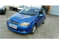 Chevrolet Kalos 2005 54 1.4 3 Dr Blue 84k Drive Away Bargain