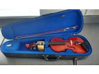 VIOLIN suit 6/10 year old size 3/4