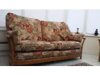 Ercol 3 seater and arm chair