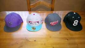 Genuine 59fifty hats (£15 for 4)