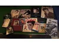 Elvis Presley collection books box sets Fan Club stuff large collection in mint condition Downend