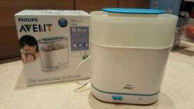 Philips Avent 3-in-1 Steriliser: comes with box