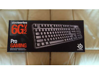 SteelSeries 6Gv2 Mechanical Keyboard (Cherry MX Black)