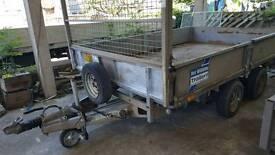 ifor williams lm106g 3500kg dropside trailer novat