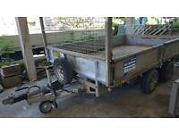 ifor williams lm106g 3500kg dropside trailer novat