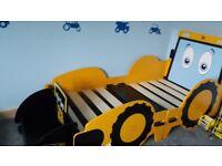 Jcb toddler bed