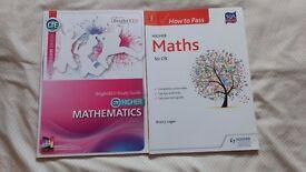 Higher Maths study books