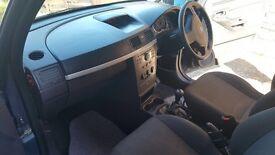 Vauxhall meriva 10 plate