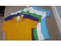 Ladies LACOSTE Polo Shirt T-Shirt