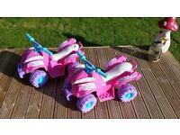 Hello Kitty Electric Quad Bikes 6v
