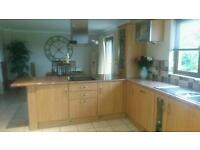Kitchen for sale including integrated appliances