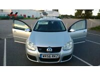 VOLKSWAGEN GOLF GT TDI 2.0L DIESEL SILVER 5DR 2006/2007 ONLY 47K MILES GREAT CONDITION ONLY £3700!