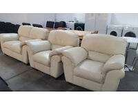 stunning 2 seater with 2 arm chairs