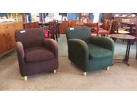 Habitat armchairs with changeable covers (sold seperately)