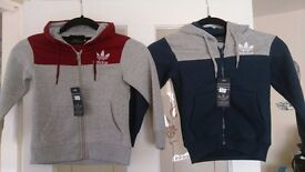 Adidas Tracksuit (2 of them) aged 3/4years...
