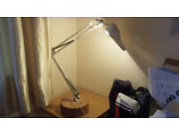 Lamp with Magnifying Feature, Angle Poise for Crafts, Sewing etc