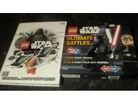 4x lego star wars books