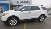 2012 Ford Explorer Limited..BEAUTIFUL LEATHER INTERIOR..1 OWNER!