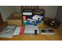 Nintendo NES MINI - Mint! 300+ Games! NES, SNES, MegaDrive, GBA, PC Engine etc