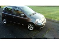 TOYOTA YARIS 1.3 (MODEL BLUE) 2004 (54 REG) 1 YEARS MOT £795