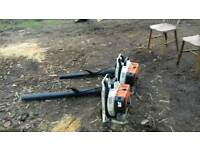 2 STIHL chainsaws (£150 each)
