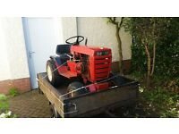 Wheel Horse 12 Automatic and trailer . Sutable for moving caravns or general garden/workswaste