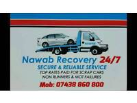 NAWAB RECOVERY 24 / 7 Secure service