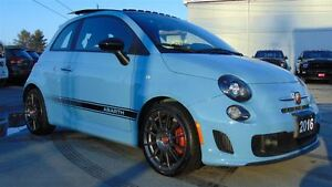 2016 Fiat 500 ABARTH - 5 SPEED MANUAL - ONLY 4,600 KMS