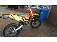 Ktm 250/350 exc-f road legal 10 months mot