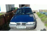 Old rover 218sd Turbo diesel