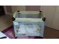 Isafe baby travel cot