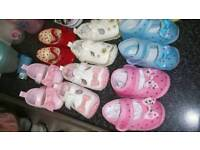 Baby girl shoes 0/3 3/6