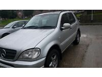 Mercedes ML 270 CDI Year 2001 mot October 2016